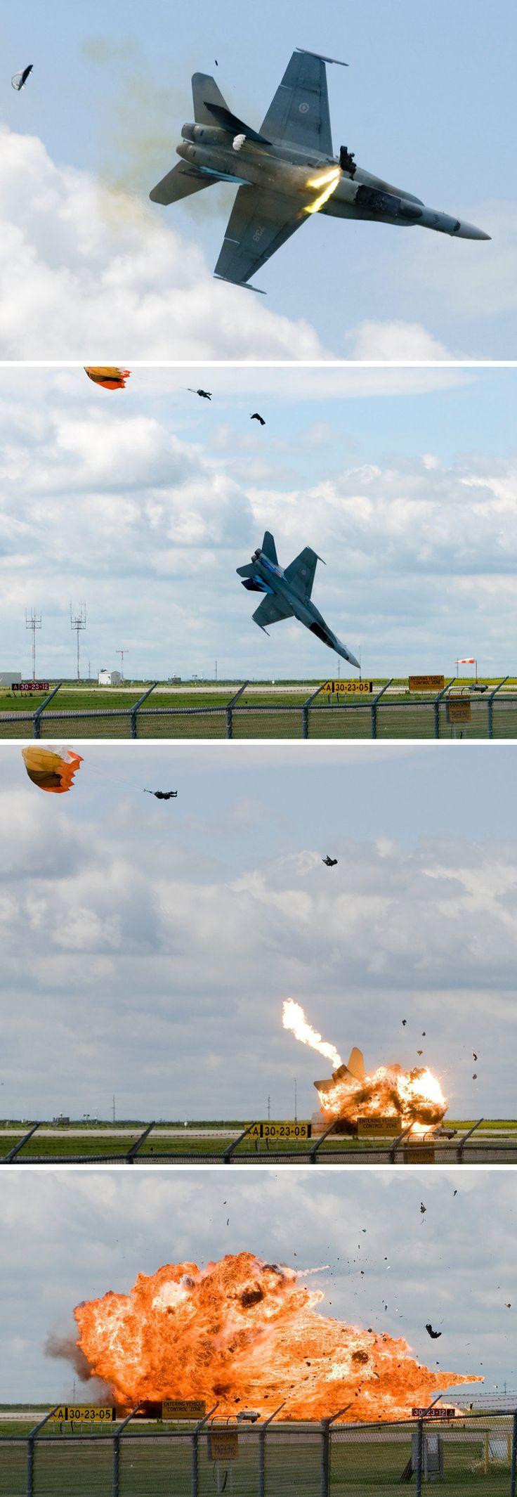 Tail Number (738): CF-18 Hornet Crash 07-23-2010   www.f-16.net