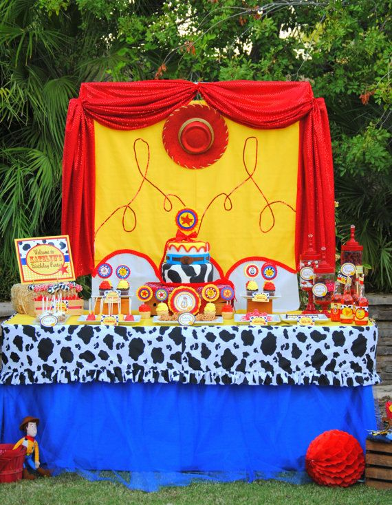 JESSIE Party -  Toy Story - Woody - Western Party - Cowboy or Cowgirl birthday party - Boy or Girl - Krown Kreations & Celebrations