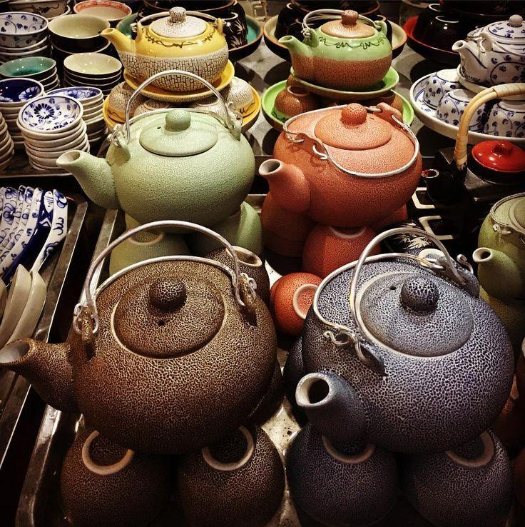 Die zijn cool! #thee #tea #teaasia #market #vietnam