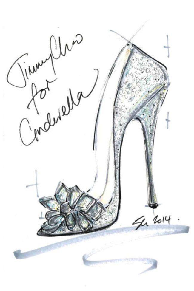 Les pantoufles de Cendrillon revisitées par Jimmy Choo (aufeminin.com)