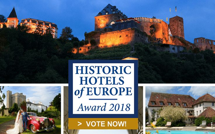 Voting Opens for 'Historic Hotels of Europe Awards 2018'.