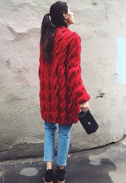 Lalo Cardigans   red ❤️