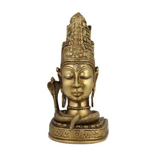 Amazon.com: Figurine Idol Shiva Statue Sculpture Art Hindu; Brass; 4.25 X 3.75 X 8.5 Inches: Home & Kitchen