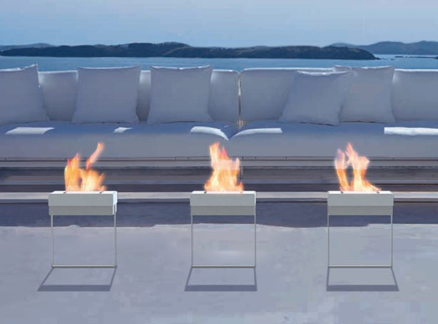 Gandia Blasco Outdoor Fireplace Available Exclusively At Clima Outdoor