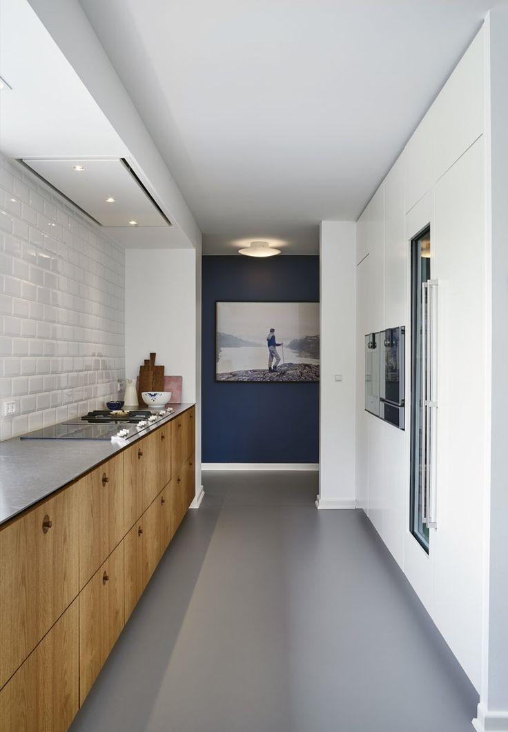 Moderne køkken med atmosfære