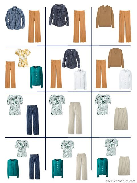 How To Accent A Denim And Khaki Capsule Wardrobe: Start