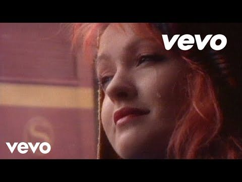 Cyndi Lauper - Time after time - I loved the 80's