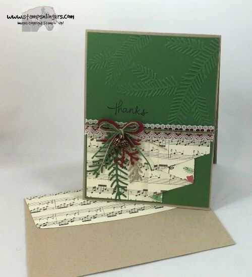 Endless Thanks This Christmas Pines by Stamps-n-lingers - Cards and Paper Crafts…