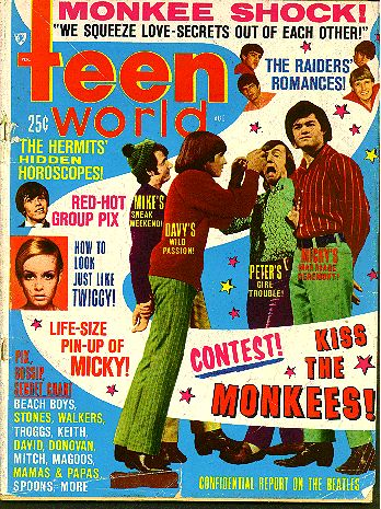 Magazine Teen World, the monkees