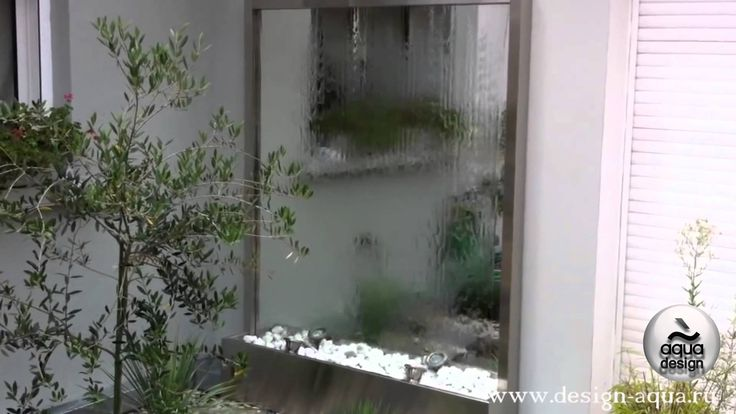 Водопад по зеркалу | Лучшие проекты декоративных водопадов