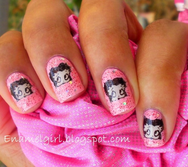 Betty Boop Nails: 83 Best Images About Betty Boop On Pinterest