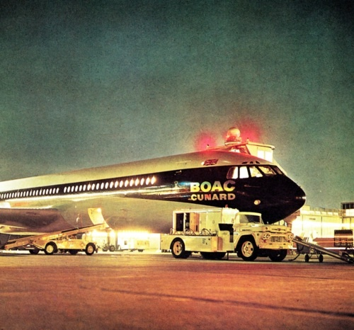 vintage british airways | Pause Mix Heaven (BOAC mixtape from forever ago)