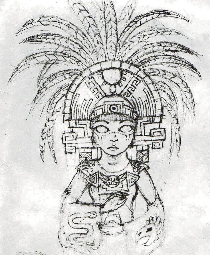 Modern Aztec Design