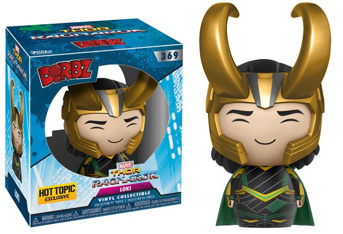 Thor: RagnarokThe mighty Thor, imprisoned on the other side of the universe, nowfinds himself fighting against his Avengers teammate, the Hulk! Get excited for the upcoming film Thor: Ragnarok, releasingNovember 3rd, 2017, with Thor: Ragnarok Mystery Minis,Dorbz, Plush, Keychains and Pop! vinyl from Funko.Collect Thor, the Hulk, Loki, Hela, Grandmaster,Valkyrie, Heimdall and many more!Collect them all this Summer! Mystery Mini: Thor Ragnarok S1 Look for GameStop and Hot Topic Exclusive…