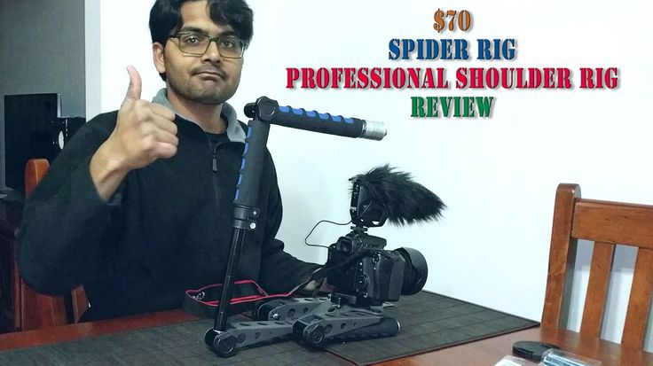 Spider rig - Cheapest professional shoulder Rig review