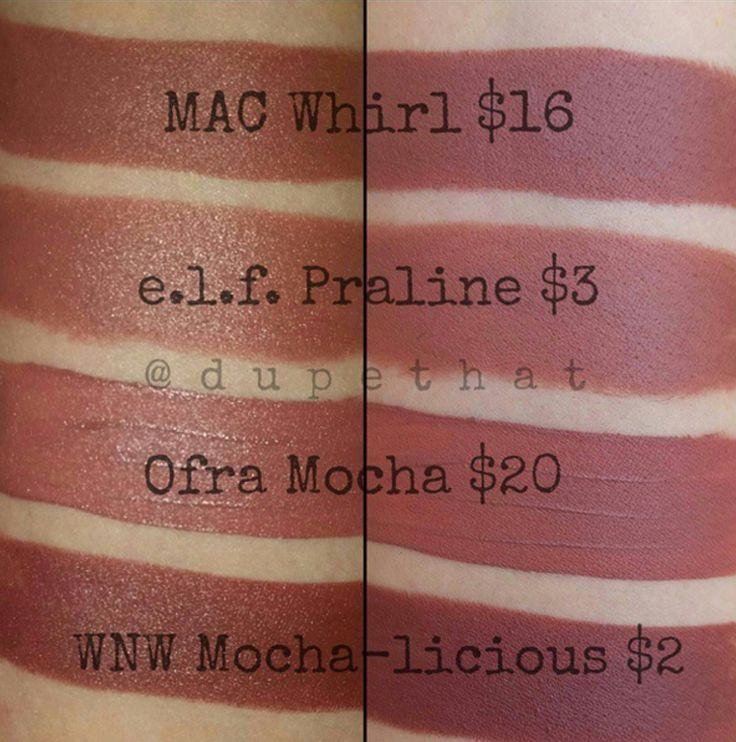 Mac Whirl Lipstick Dupes