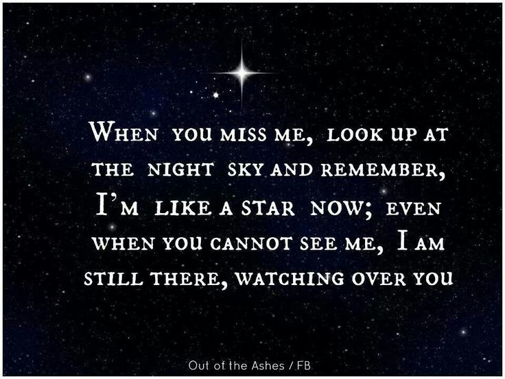 I love you dad x my dad use to say this to me all the time he told me that one day he will be up there looking down on me the day he passed I ran to my window and the biggest star ever was there and I knew it was my dad my dad really did say this ~Kimmie Speziale