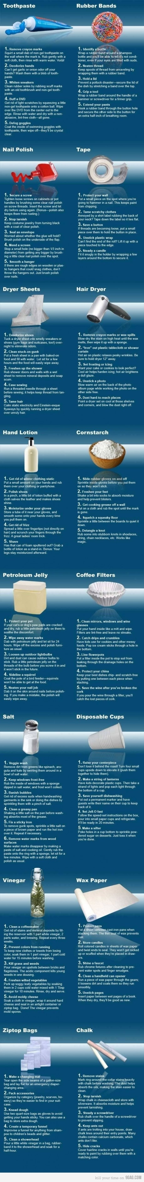 a BIG list of useful ideas!