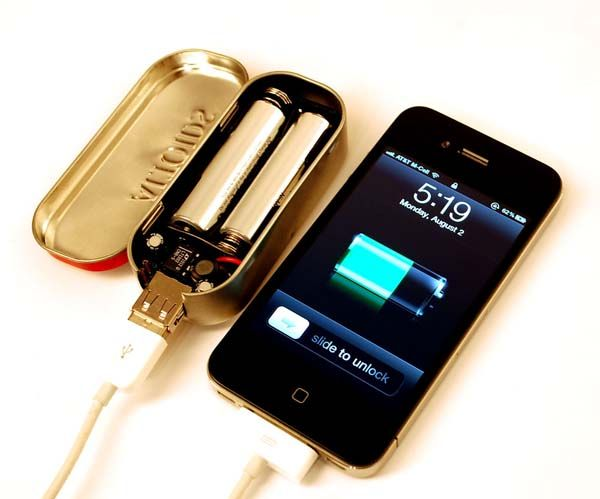 DIY cell phone charger (TAKE IT ANYWHERE-How cool is that?!? Trying it!!)