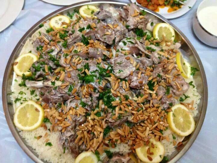 434 best traditional arabic food images on pinterest arabic pizza covered with a lamb carcass mansaf middle eastern foods forumfinder Choice Image