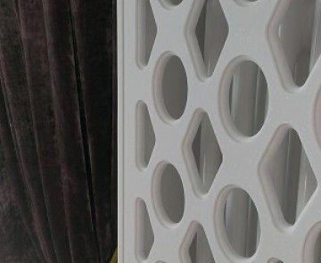 Радиаторы отопления из искусственного камня. Декор. Grille for batteries, radiators made of acrylic artificial stone.