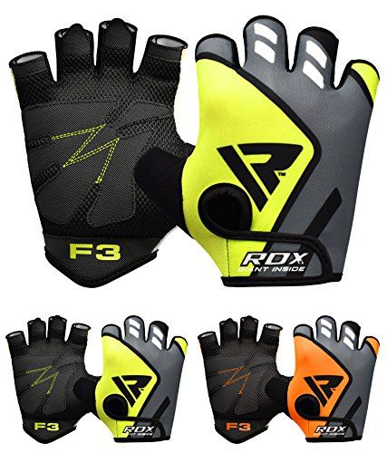From 5.99 Rdx Gym Weight Lifting Gloves Workout Fitness Bodybuilding Crossfit Breathable Powerlifting Wrist Support Strength Training Exercise