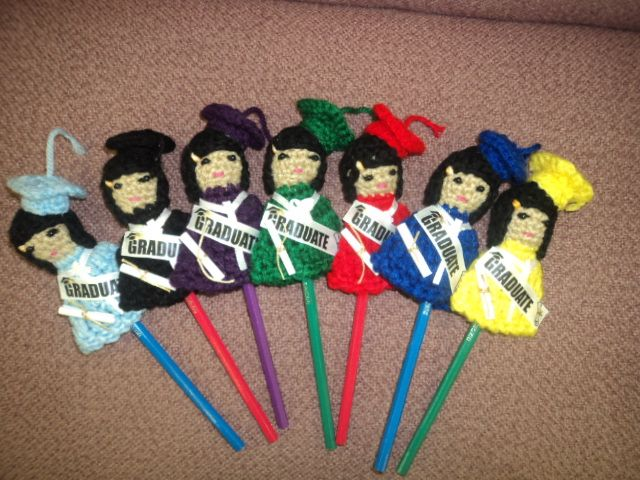 recuerdo de graduacion | crochet cosas hechas x mi | Pinterest