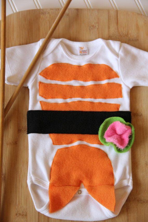 Sushi Baby Costume Baby Halloween Costume Long by mylittlemookie