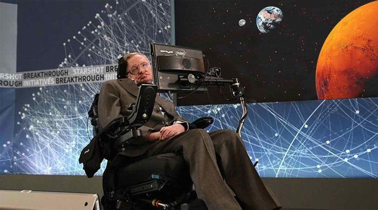 Hawking warns – Colonize Moon and Mars ASAP