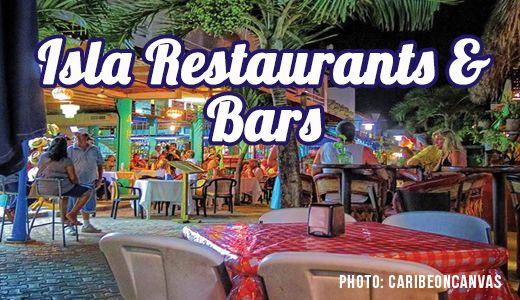 Isla Mujeres Restaurants & Bars are mostly located downtown but there are definitely some great spots serving tasty food and drinks in the colonias as well.