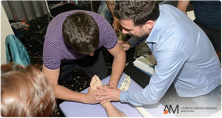 Los cursos formativos de Arvila Magna permiten que los alumnos realicen prácticas clínicas de la materia impartida, con pacientes reales y bajo la supervisión de un osteópata D.O.  #osteopatia #estudiarosteopatia #ArvilaMagna #formacion