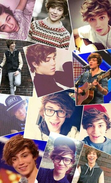 George Shelley collage