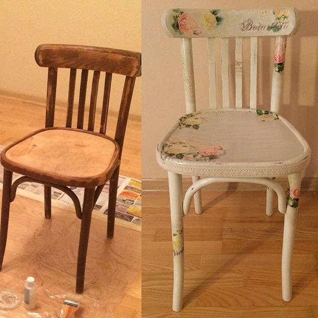 Как обновить старые стулья фото пошаговый
