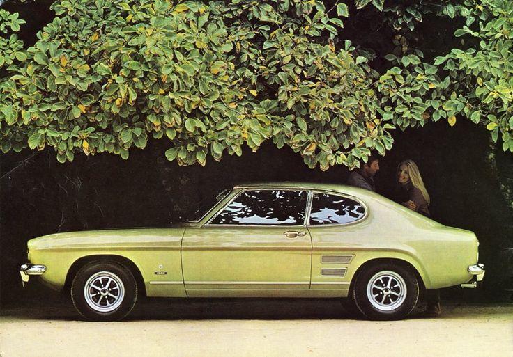 Ford Capri (poor man's Mustang)