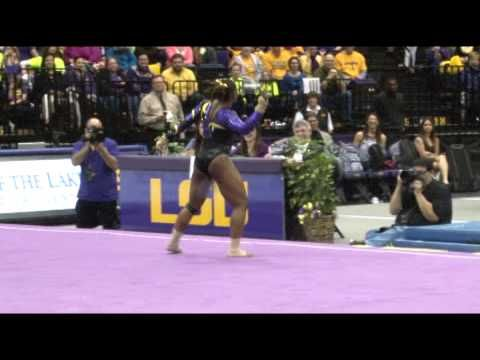 Watch the performance: | College Gymnast Brings Down The House With A Perfect Routine