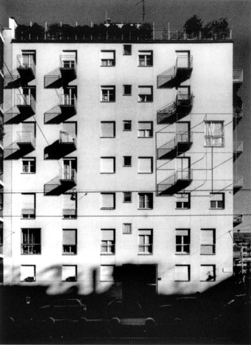 Mario Asnago e Claudio Vender - Via Faruffini 6, milano, 1954