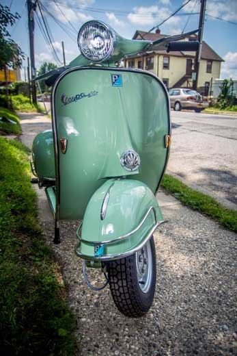 One of the most popular colors we offer. Green perfectly matches Super VBC model! Click the link below, customize the scooter according to your preferences and we will deliver it in 6-8 weeks. Just in time for the season...