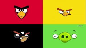 Resultado de imagen para etiquetas escolares de angry birds