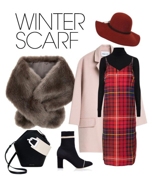 """""""ComFURtable Scarf"""" by anhestlyartsy ❤ liked on Polyvore featuring Accessorize, Topshop, Tommy Hilfiger, Danse Lente and winterscarf"""