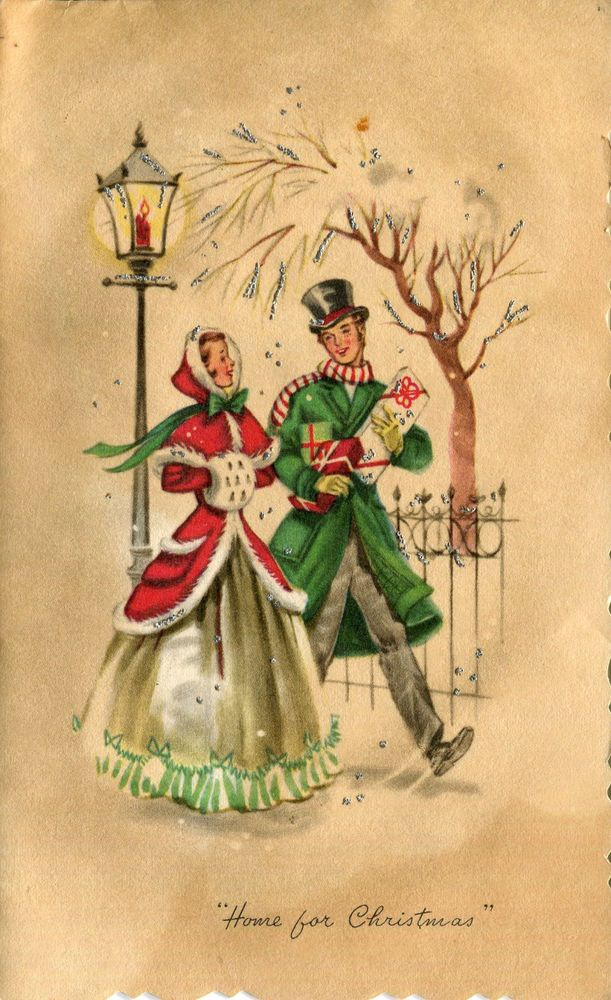 Old Fashioned Christmas Greetings