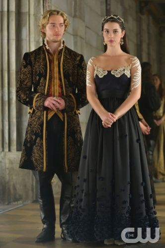 Mary and Francis in 'The Prince of the Blood'. They both look very regal. #Reign #Season2
