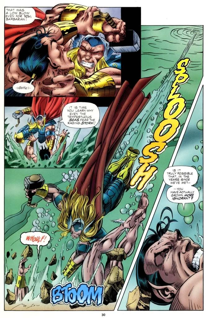 Namor vs Hyperion - Google Search | Namor the Sub-Mariner ...