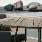 De gezelligheid van ronde tafel design