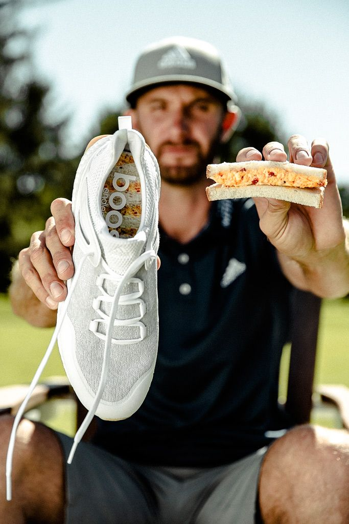 "adidas's ""soft ambush"" of The Masters 2017 via Augusta's legendary on-course pimiento-cheese sandwich"
