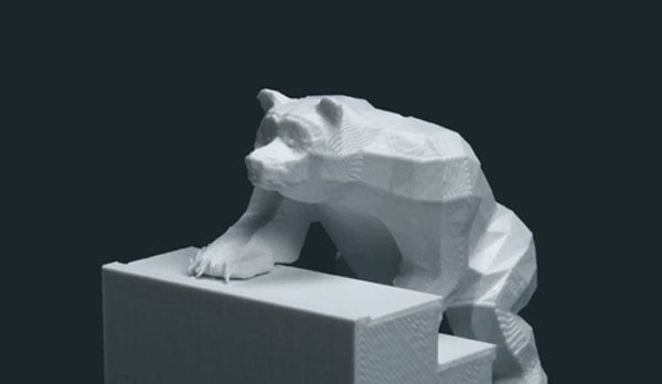 Bears on Stairs: A Stop Motion Animation Created from 3D Printed Frames stop motion bears animation 3d printing
