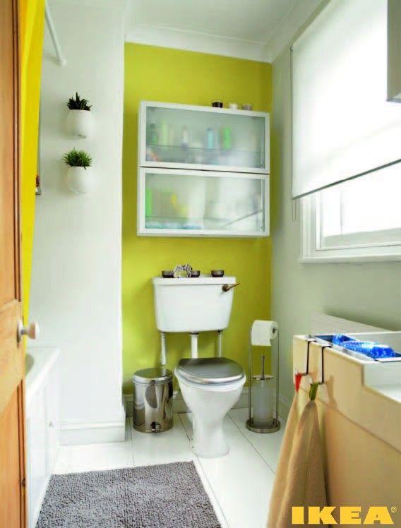 Интерьер ванной комнаты ИКЕА
