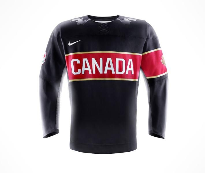 Team Canada's 2014 Olympic hockey jersey