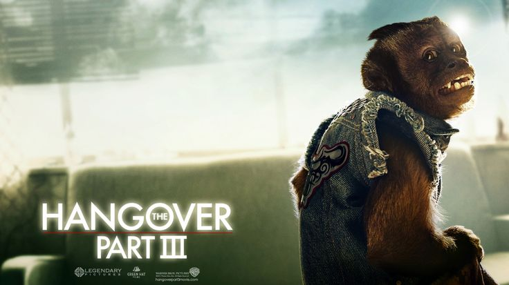 Hangover 3 Monkey poster - See best of PHOTOS of the HANGOVER 3 2013 film http://www.wildsoundmovies.com/hangover_3_lauren.html