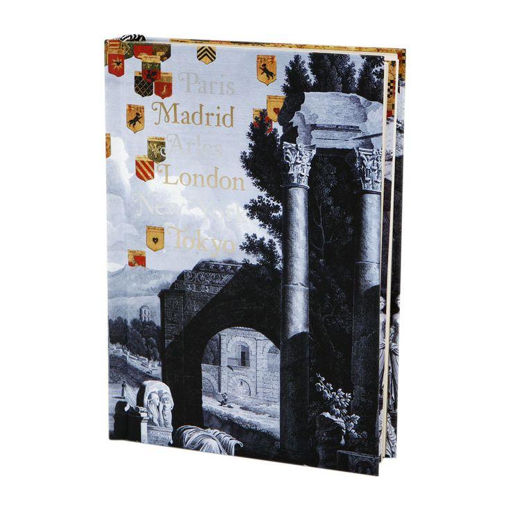 Christian Lacroix - Voyage B5 Hardbound Flocked Journal