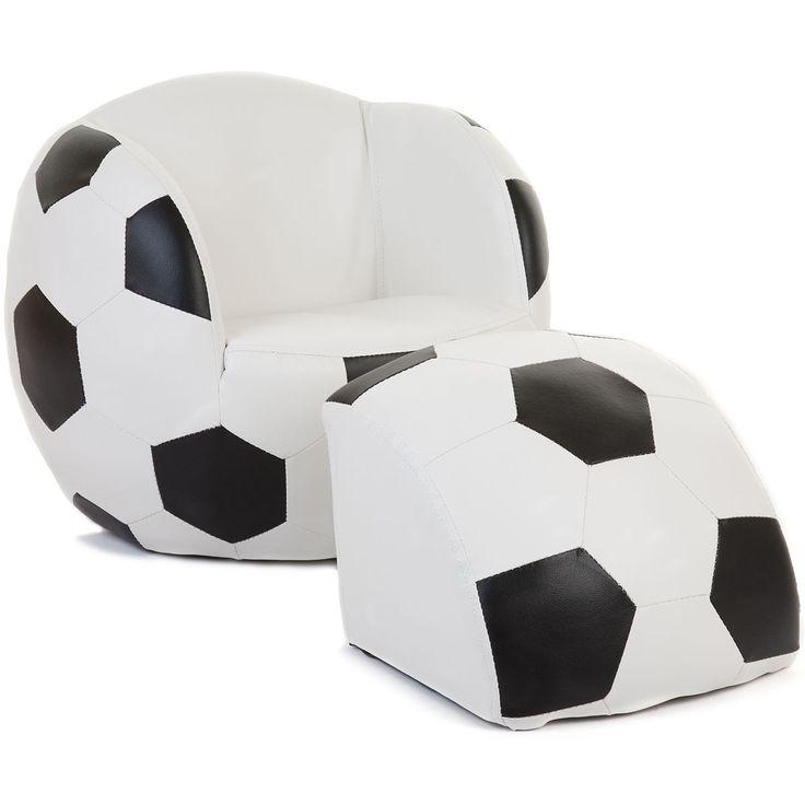 barnfåtölj fotboll